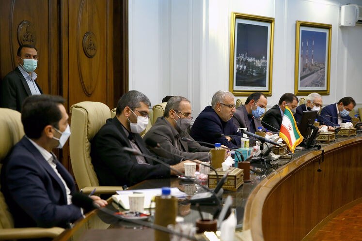 دیدار وزیر نفت با هیئت عراقی