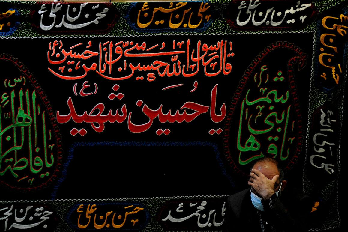 آیین عزاداری کارکنان نفت به مناسبت اربعین حسینی