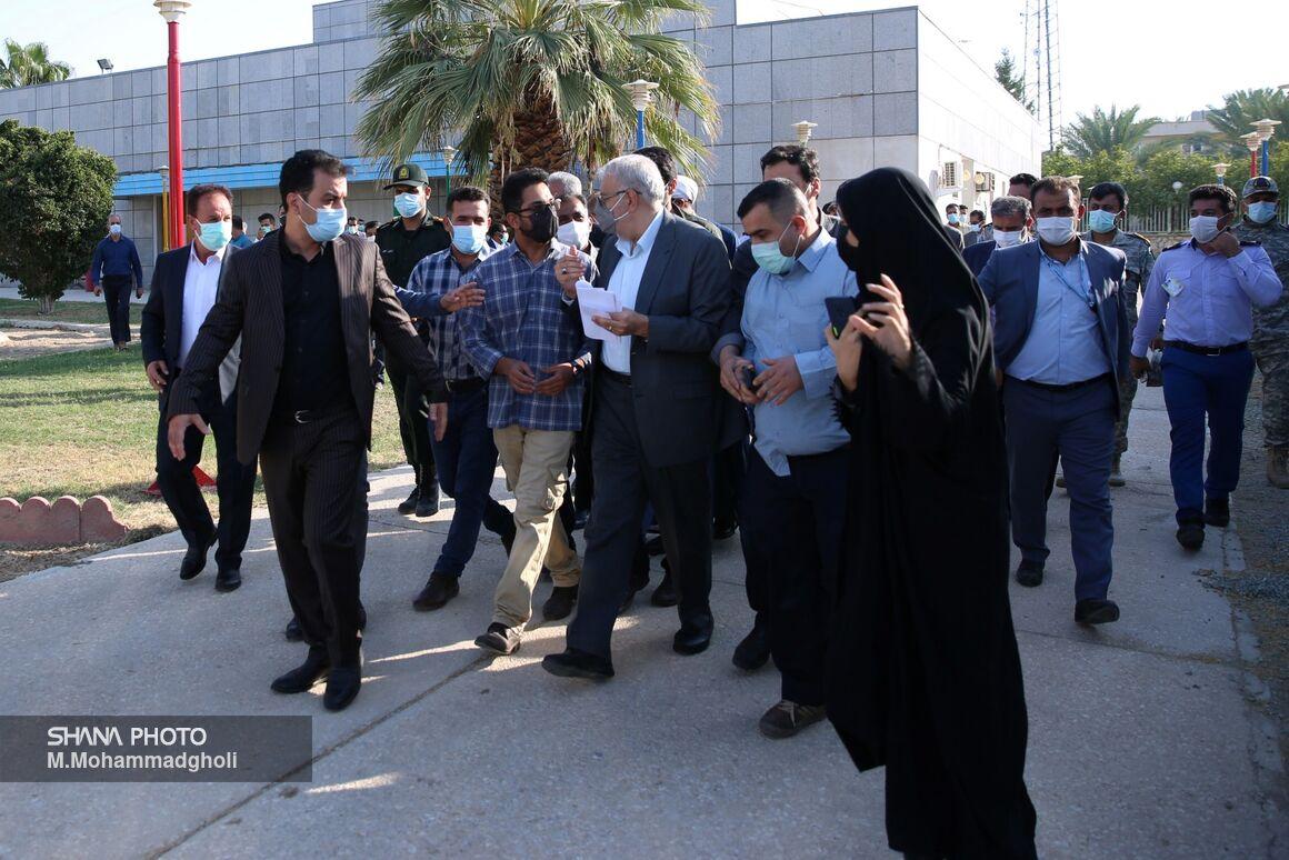 سفر وزیر نفت به استان بوشهر