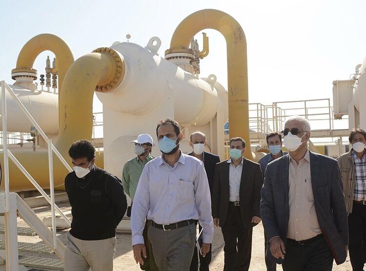 پیشرفت ۷۰ درصدی پروژه خط انتقال گاز محمدیه قم - پارچین