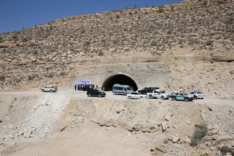 تونل ۷ قطعه ۳ بزرگراه فیروزآباد_کوار