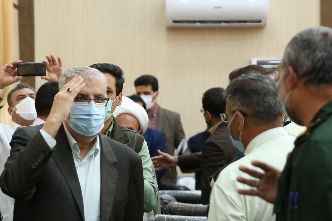 فارس؛ ایستگاه هفتم سفرهای کاری و استانی وزیر نفت