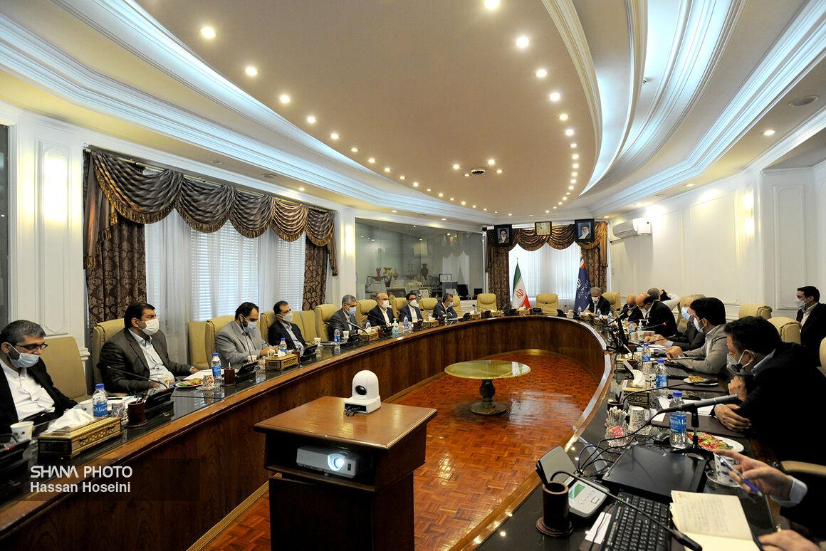 دومین نشست شورای معاونان وزارت نفت با حضور اوجی برگزار شد