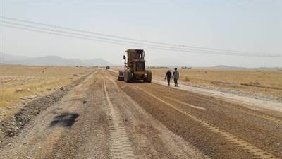آغاز بهسازی جاده تمبی-چمفراخ مسجدسلیمان به همت نفت