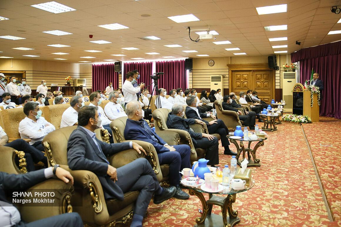 نشست مدیرعامل شرکت ملی گاز ایران با کارکنان مجتمع پارس جنوبی