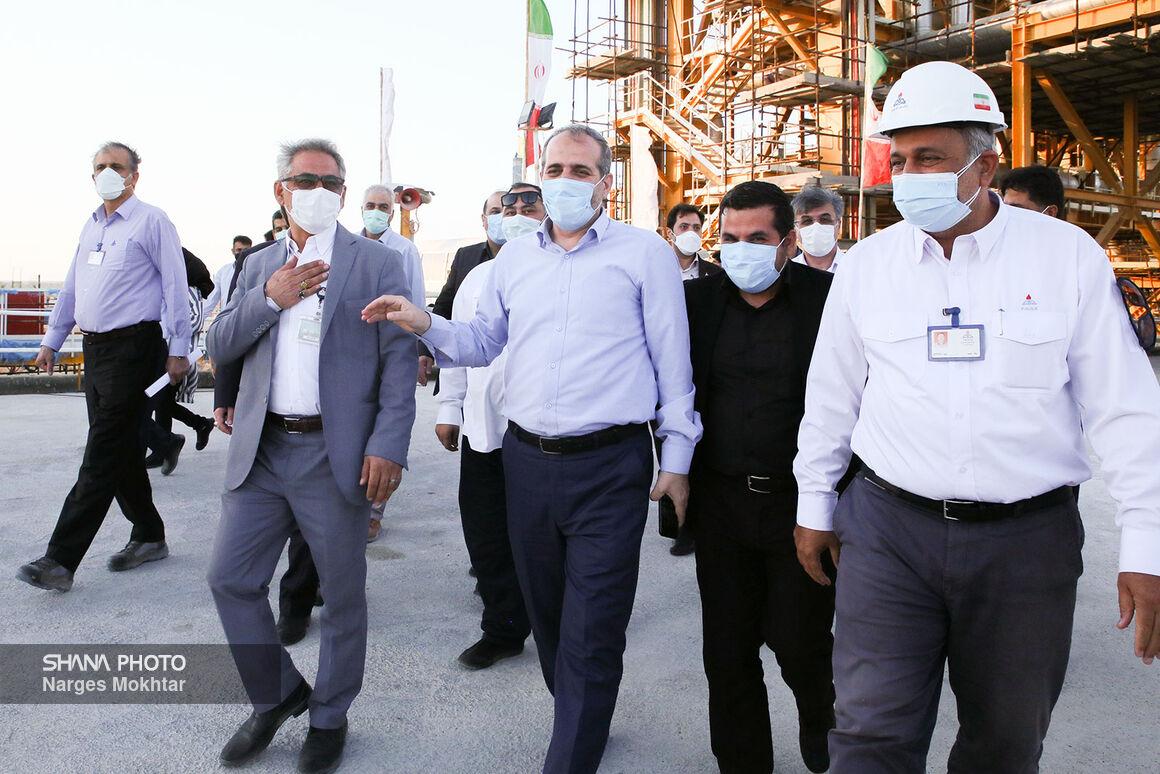 نخستین روز سفر مدیرعامل شرکت ملی گاز ایران به عسلویه