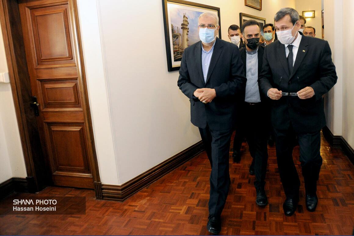 دیدار وزیر نفت ایران با وزیر امور خارجه ترکمنستان