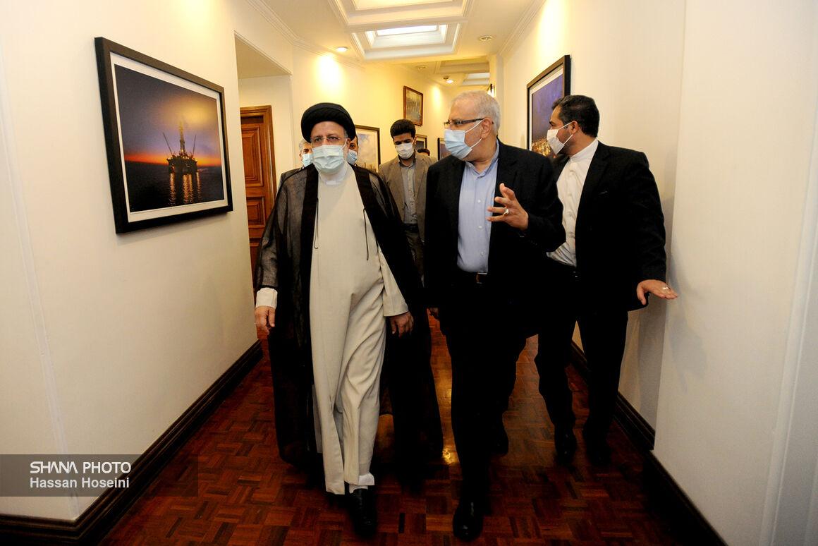 بازدید سرزده رئیسجمهوری از وزارت نفت