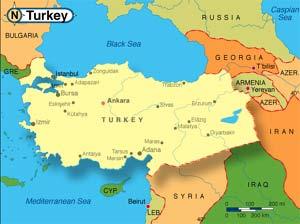 فعالیتهای اکتشافی ترکیه در مدیترانه ادامه مییابد