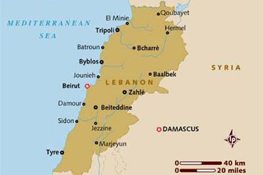 لبنان اکتشاف نفت و گاز را آغاز میکند