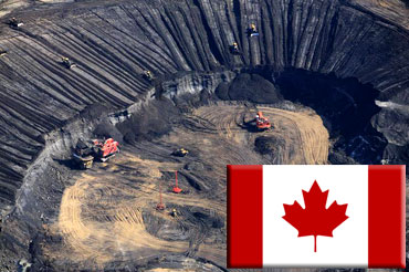 افت قیمت نفت تولید ماسههای نفتی کانادا را تهدید میکند