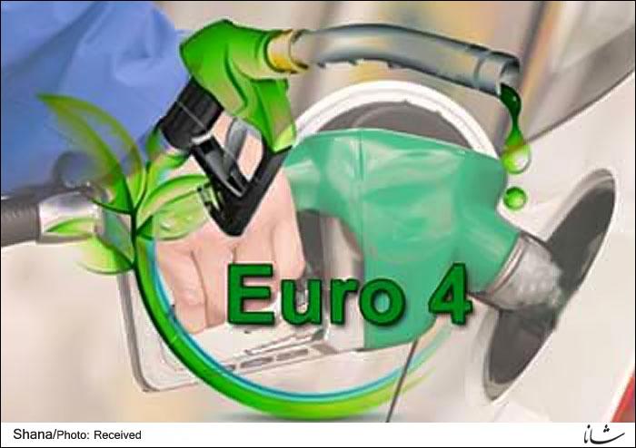 Euro-4 Gasoline Distributed in Tabriz