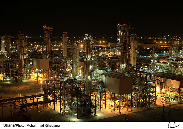 Gas Refinery Operation Halted for Maintenance