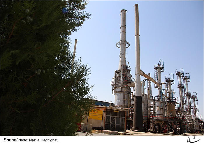 Kermanshah Oil Refinery Upgrading Units
