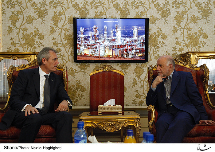 Iran, Austria Confer on Joint Ventures in Oil Industry