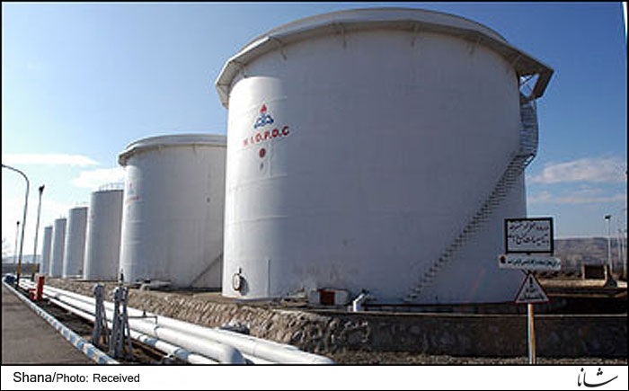 South Pars Condensate Storage Capacity at 3.5 mb