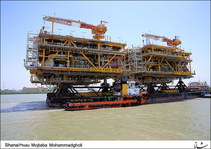 IOEC to Load Marine Structures for 2 South Pars Platforms