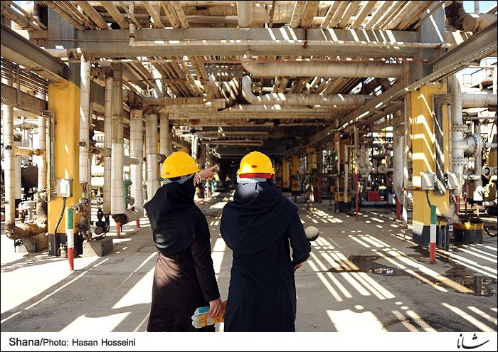 نگاهی به شرایط فراروی بانوان شاغل در صنعت نفت