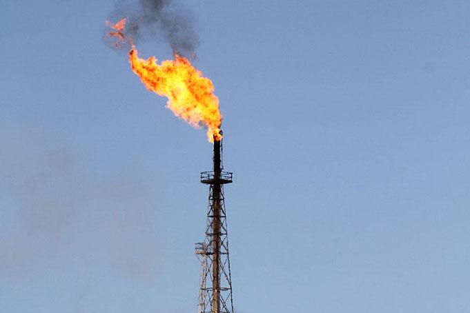 مقدار سوختن گازهای مشعل به بالاترین سطح در یک دهه اخیر رسید