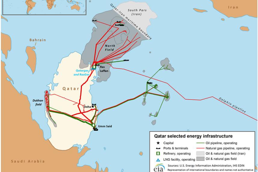 قطر برای ۲۰ سال به کره جنوبی الانجی عرضه میکند