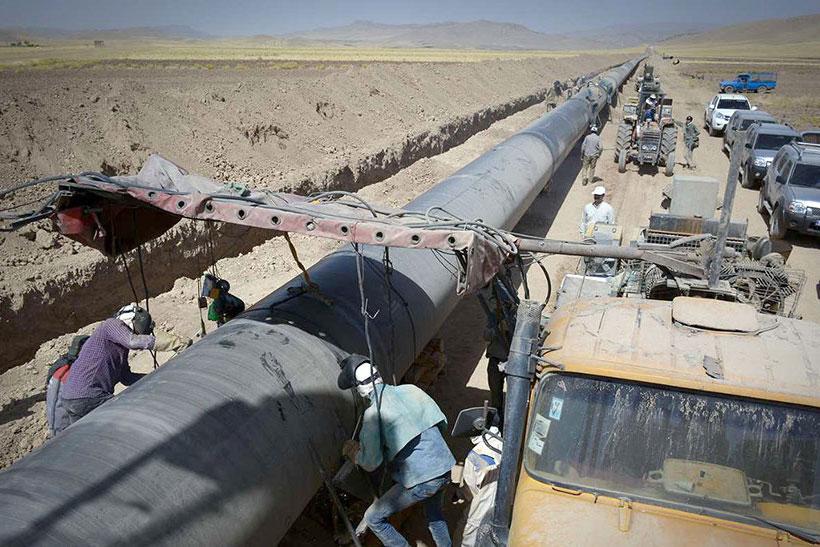 اجرای خط انتقال گاز ششم سراسری، تجسم عینی اقتصاد مقاومتی