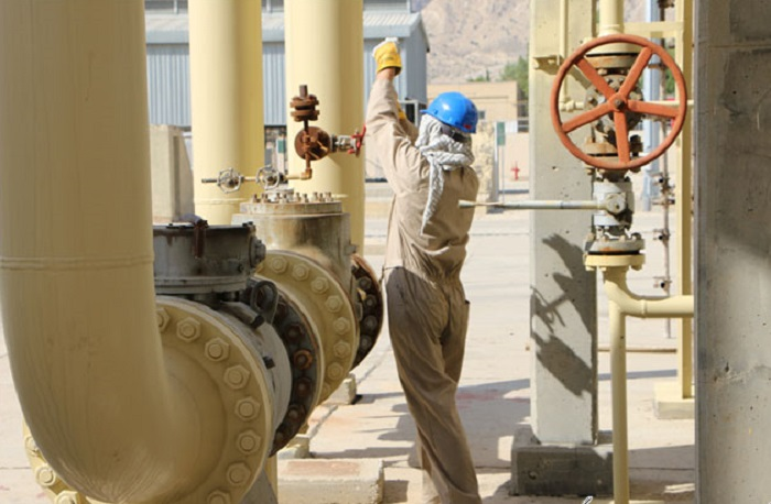 ICOFC Gas Output at 1,377bcm