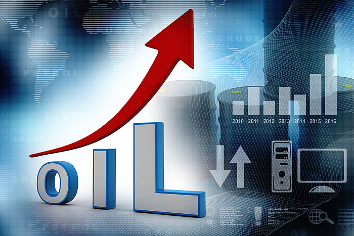 قیمت نفت برای چهارمین روز پیاپی افزایش یافت