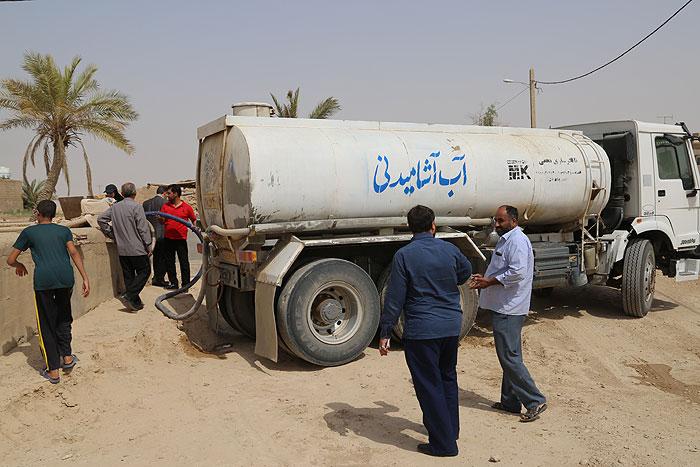 نفت هیچگونه برداشت آبی از خط لوله غیزانیه نداشته است