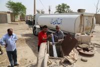آبرسانی به روستاهای منصوری در طرح نگهداشت تولید نفت