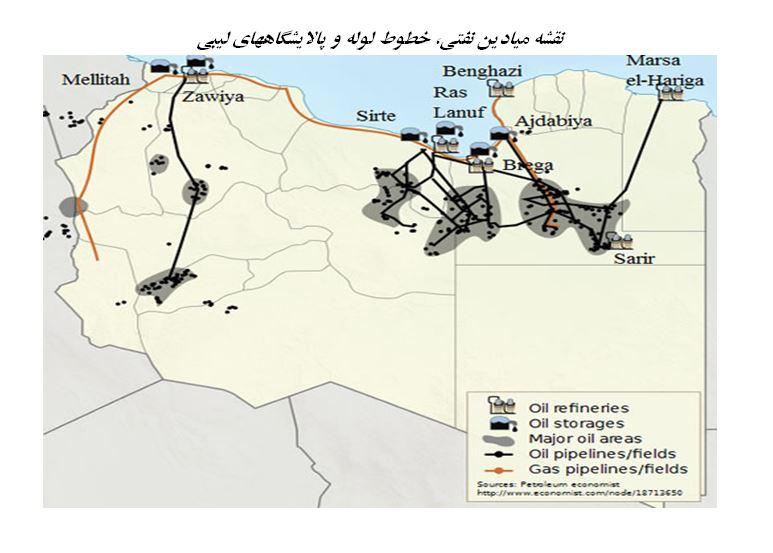 شرایط اضطراری صادرات نفت لیبی لغو شد