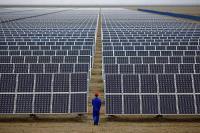 راهاندازی نیروگاه خورشیدی در ستاد منطقه 3 عملیات انتقال گاز