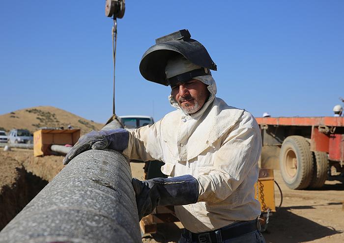 ۱۵۰۰ خانوار روستایی خوزستان در دهه فجر ار نعمت گاز بهرهمند میشوند