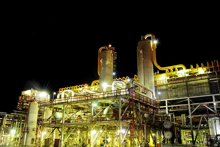 اجرای پروژه تغلیظ گاز اسیدی در پالایشگاه گاز شهید هاشمینژاد