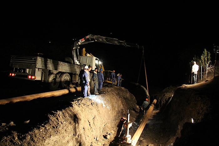 گازرسانی به لاریجان و آمل نیازمند بستن جاده هراز برای 6 ماه است