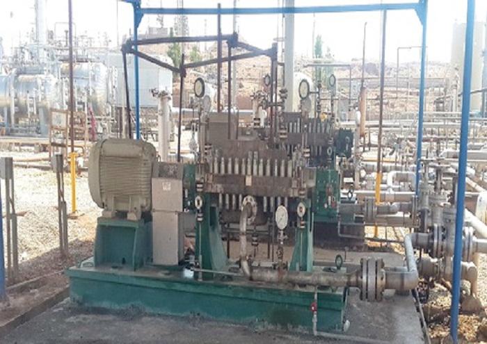 عملیات تعمیرات اساسی پمپ پساب نفتشهر پایان یافت