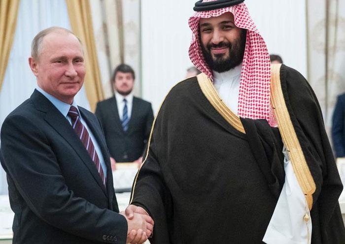 ریاض و مسکو درباره کاهش روزانه ۱۵ میلیون بشکه نفت توافق میکنند