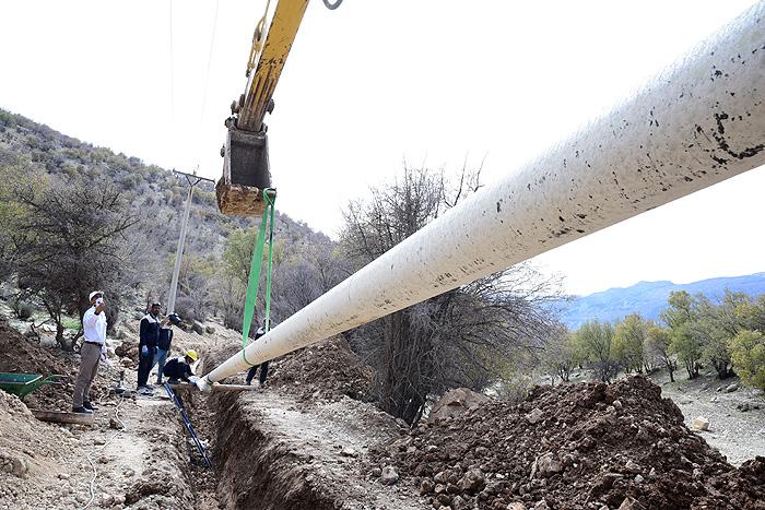 اتصال روستاهای دماوند و فیروزکوه به شبکه گاز طبیعی