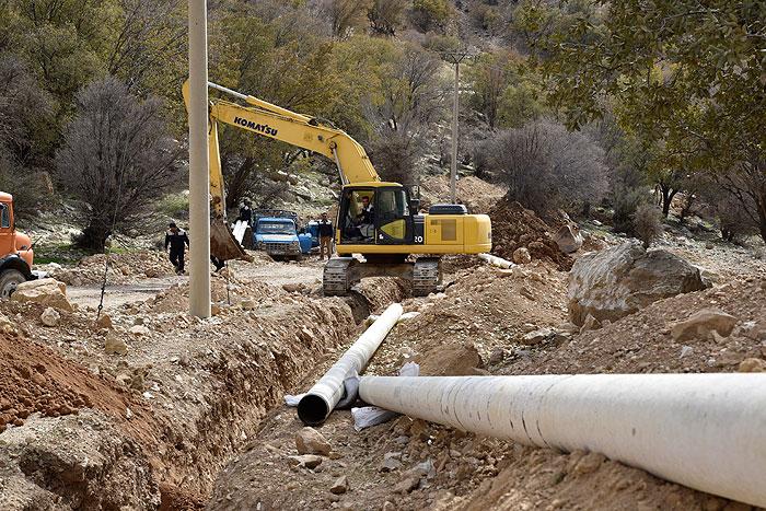 فاز دوم پروژه گازرسانی به آسارا در استان البرز آغاز شد