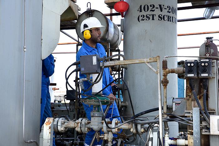 پالایشگاه گاز پارسیان برای دهمین سال پیاپی به عنوان صنعت پاک معرفی شد
