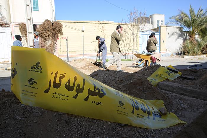 مرمت آسفالت پروژه گازرسانی شهر زاهدان به شهرداری واگذار شد
