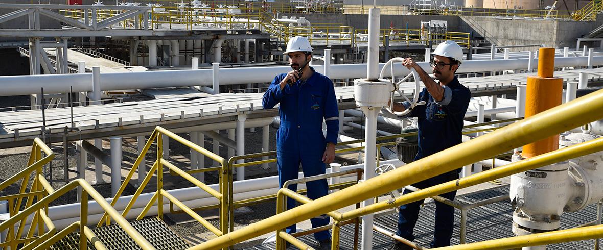 خطوط لوله و مخابرات نفت تهران، بزرگترین ترمینال نفتی خاورمیانه