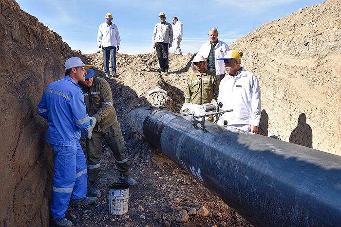 افزایش بیش از 100 کیلومتر خط لوله در منطقه 8 عملیات انتقال گاز