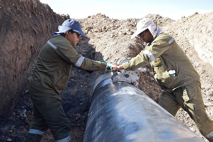 انتقال گاز در استانهای سیلزده پایدار است