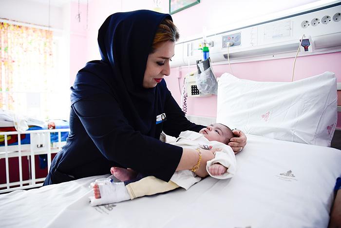 روز پرستار در بیمارستان فوق تخصصی مرکزی صنعت نفت تهران