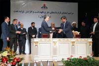 9 قرارداد نگهداشت و افزایش توان تولید نفت با شرکتهای ایرانی امضا شد
