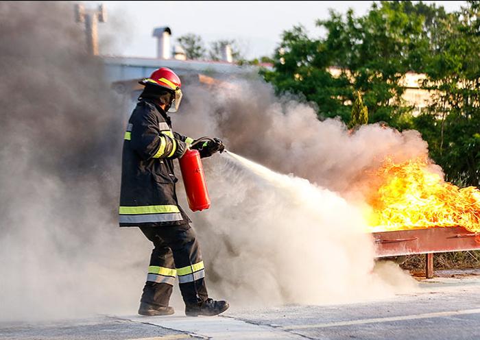 ارتقای مهارت و سرعت عمل آتشنشانان برای مقابله با حوادث