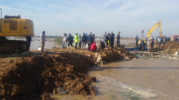 پشتیبانی نفت و گاز اروندان از روستاهای سیلزده حوزه غرب کارون