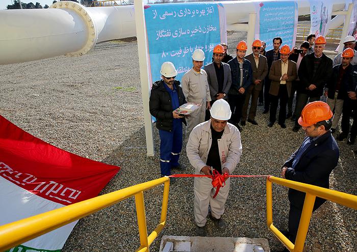 2 مخزن 40 میلیون لیتری گازوئیل یورو 4 در تهران به بهرهبرداری رسید